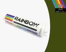 Olive Green Colour Silicone Sealant Rainbow 310ml RAL 6003 Indoor & Outdoor use