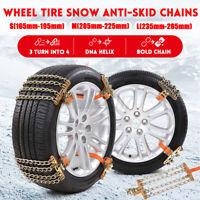 Schneeketten Standmontage Schnee Anfahrhilfe Reifen Kette für KFZ SUV  z