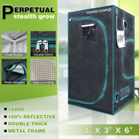 Mars Hydro 3' x 3' x 6' Indoor Grow Tent Room Box For Indoor Plant Home Cabinet