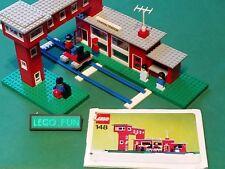 LEGO® 148 Bahnhof +OBA / Central Station +Instr. Eisenbahn Train 12V /4,5V /2