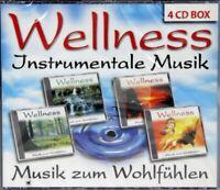 Wellness Instrumentale Musik zum Wohlfühlen 4 CD Box Collector's Edition