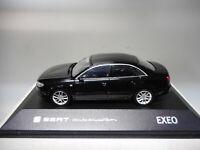 SEAT EXEO 2009-2013 AUTOEMOCION MAGIC BLACK DEALER SEAT 1/43