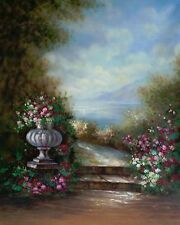 6'x9' Hand-Painted Canvas Scenic/Old Master Photo Backdrop Background 50-005