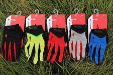 GUANTES gloves especialized CICLISMO  GEL BICI  BIKE BTT MTB MBX - M L XL -4 Col