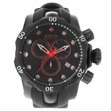 New Invicta 18881 Venom Reserve SWISS MADE Chronograph Black Rubber Strap Watch