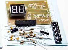 Automatic Digital SWR Power meter with 2-bit LED. Soldering Project Kit