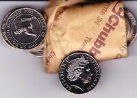 2001 Sir Donald Bradman 20 Cent UNC COIN EX MINT ROLL AUSTRALIAN 20c Twenty Cent