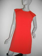 NEW * TED BAKER * TATTY TEXTURED ORANGE GOLD ZIP LINED DRESS TB 3 UK 12 RRP £159