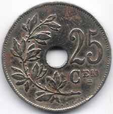 Belgium : 25 Centimes 1927 Dutch Legend