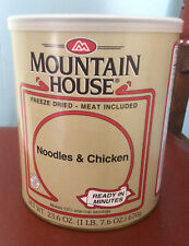 Survival mountain house freeze dried food Noodles And Chicken