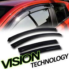 For 07-12 Altima Sedan Sun/Rain Tint Guard Vent Shade Deflector Window Visor 4PC