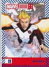 #68 ANGEL (2018) 2017 Upper Deck Marvel Annual BLUE X-MEN