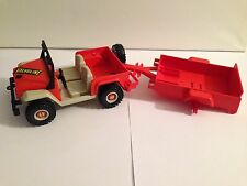 Playmobil aus Sammlung Dschungel PLAYMOBIL Schönes Set zum Thema Safari mit Jeep