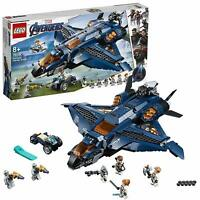 Top! LEGO® Marvel Super Heroes - 76126 Ultimativer Avengers-Quinjet + NEU & OVP