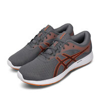 Asics Patriot 11 Grey Orange Mens Road Running Shoes 1011A568-020