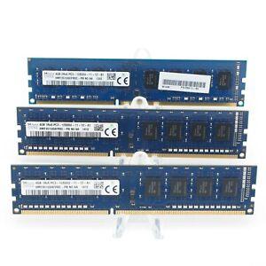 Hynix 12GB(4GBx3) HMT351U6CFR8C-PB PC3-12800U DDR3 4GB RAM