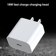 For iPhone 12 Pro Max 12Mini 11 iPad Fast Charger Charging Head Plug 18W USB-C