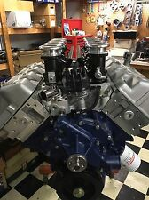 CUSTOM BUILT BOSS 429 FORD ENGINE 505CI NEW HEADS STACK EFI