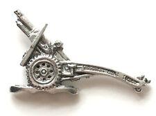 25 Pounder Gun Military Pewter Lapel Pin Badge