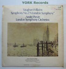 SB 6860 - VAUGHAN WILLIAMS - Symphony No 2 ANDRE PREVIN LSO - Ex Con LP Record