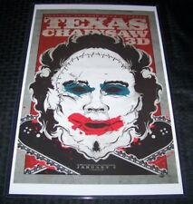 The Texas Chainsaw Massacre 3D 11X17 Movie Poster Leatherface Pretty Woman