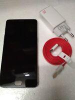 OnePlus 3 Gunmetal GRIGIO DUALSIM SMARTPHONE no simlock LTE (no 3t) 64gb 64 gb