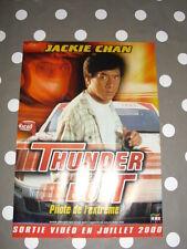JACKIE CHAN THUNDERBOLT Affichette Mini-Poster A4