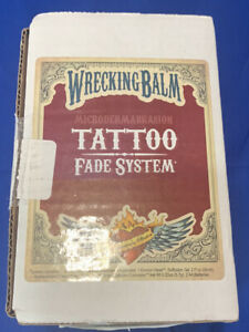 Wrecking Balm Microdermabrasion TATTOO Fade System - New Sealed in Open Box