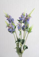 Lot de 3 artificiel 62cm PHYSOSTEGIA sprays/tiges-violet
