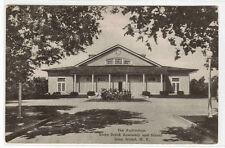 Auditorium Assemby School Stony Brook Long Island New York 1946  postcard