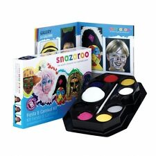 Snazaroo FACE PAINTING Fiesta & Carnival (Paints/Sponges/Brush/Guide)(1180020)