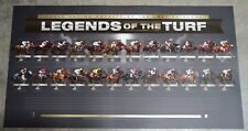 Legends of the Turf Horse Racing Royalty of the Last 50 Years Print ONLY and COA