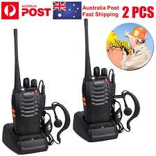 2pcs Walkie Talkie Baofeng Bf-888s 2way Radio UHF Outdoor Interphone USB Charger