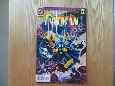 1994 VINTAGE DC BATMAN # 501 KNIGHTQUEST SIGNED MIKE MANLEY ART,WITH POA