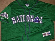 VTG AUTHENTIC NATIONAL 1998 ALL-STAR GAME MLB MAJESTIC BLANK JERSEY RARE!