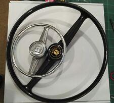 VW Splitscreen miniature steering wheel aluminium beetle pedal car or display