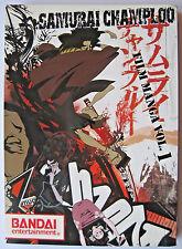 Samurai Champloo Film Manga Vol. 1 FULL COLOR Collectable English Graphic Novel