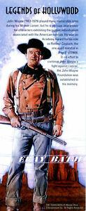US: 2004 JOHN WAYNE - LEGENDS OF HOLLYWOOD; Sheet Sc 3876; 37 Cents Values