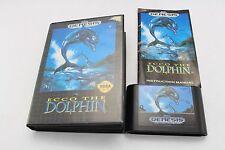 Genesis (Megadrive) Game Ecco The Dolphin NTSC USA