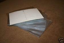 100 Ansichtskartenhüllen / Postkartenhüllen (H2) für neuere AK 110 x 155 mm NEU