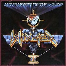 In the Heart of the Young by winger (cd, Atlantic records, hair band, 1990)
