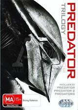 Predator Trilogy 1 2 3 DVD Box Set R4/Aus Predators Collectors 3 movies Set New