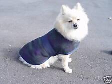 New Washable Dog Coat Blanket Insulated Wool Fleece Xxs