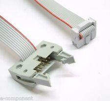 Cable Alargador Cable Plano 3M 10 polos con 2 conectores M-F - longitud 50 cm