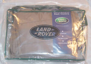 Land Rover OEM Discovery 5 Waterproof Rear Nimbus or Black Seat Covers L462 New