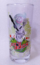 RARE Water Cup ✱ 7 UP & FIDO DIDO & LET´S ROCK  ✱ Collection Glass Verre 2000´s