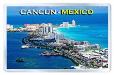 CANCUN MEXICO MOD3 FRIDGE MAGNET SOUVENIR IMAN NEVERA