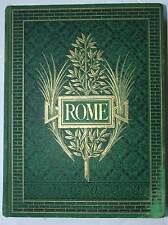 Rome, Francis Wey, 1875, 345 engravings of 19th century Rome