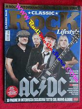 rivista CLASSIC ROCK 026/2015 AC/DC Tom Petty Iggy Pop Finardi Supertramp  No cd