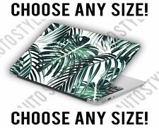Green Palm Leaf Tropical Laptop Skin Decal Sticker Tablet Skin Vinyl Cover